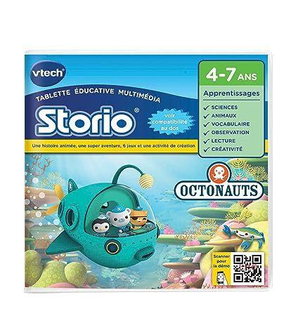 VTech 234005 - Jeu Pour Tablette - Jeu Storio Octonauts