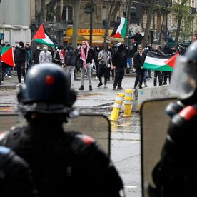 Cause palestinienne : 20.000 manifestants à travers la France, brèves tensions à Paris