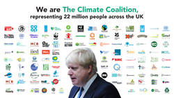 An open letter to the prime minister from the Climate Coalition