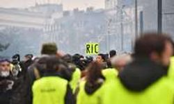 Gilets jaunes : 400 manifestants à Nantes, 18 interpellations
