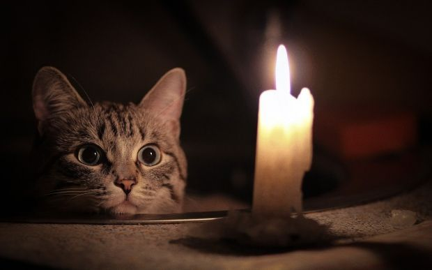 В Одессе жилые дома остались без света \ megakoshka.ru