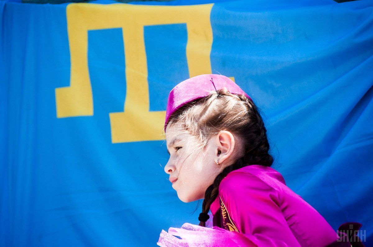 It was dedicated to Day of Remembrance for Victims of Crimean Tatars Genocide / Photo from UNIAN