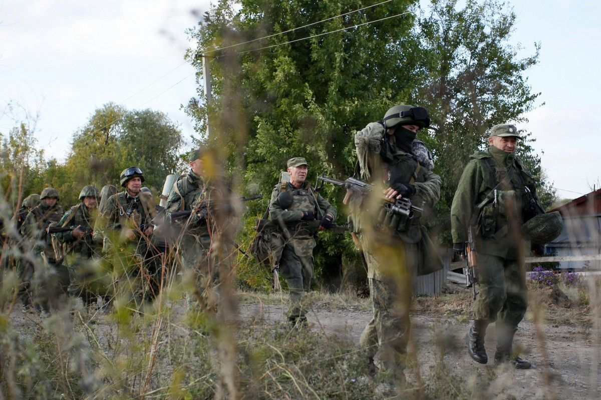 """LPR"" terrorists announce reservist training / REUTERS"