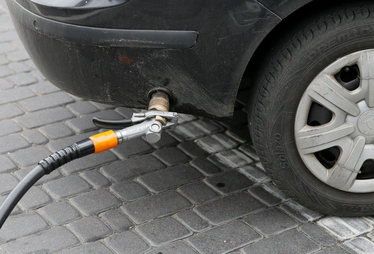 Средняя цена на газ составляет 12,90 грн/л / Иллюстрация REUTERS