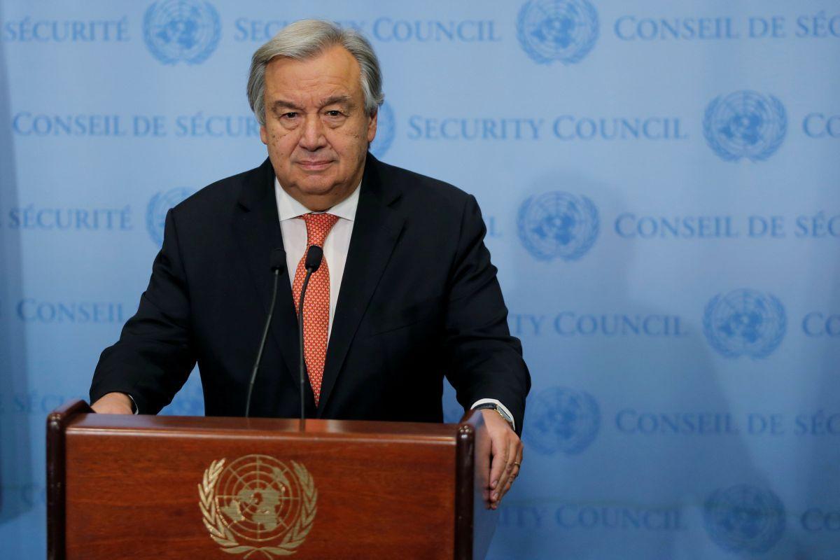 Гутерриш призвал сделать все, чтобы прекратить огонь во всех конфликтах в мире / фото REUTERS