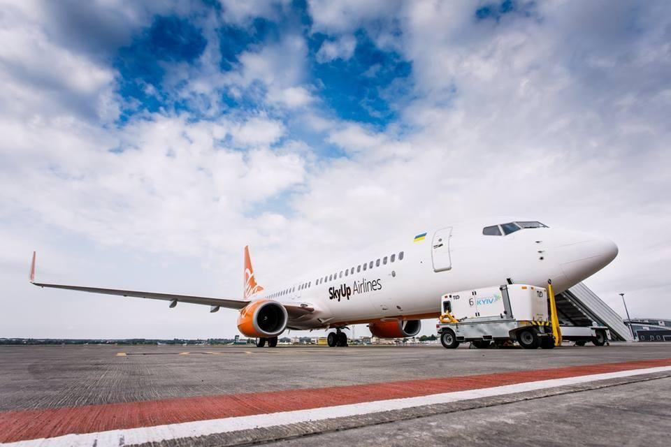 SkyUp начал предоставлять скидки на заказ дополнительных услуг \ Фото facebook.com/skyup.airlines