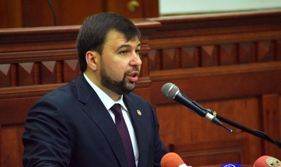 """Denis Pushilin / Photo from pro-""""DPR"""" outlet"""