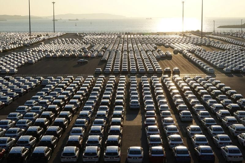 Легкових автомобілів було виготовлено 3 тис. 538 штук / Ілюстрація REUTERS