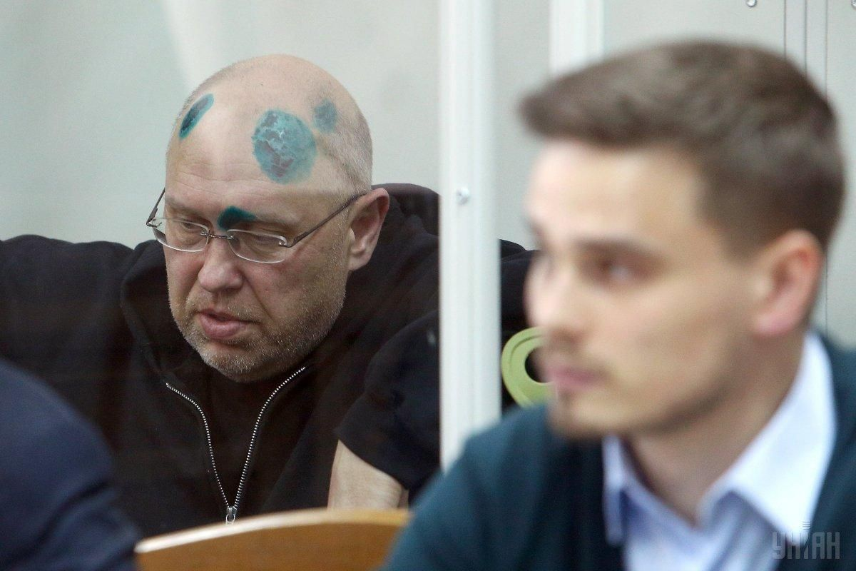 Ihor Pavlovsky in the courtroom / Photo from UNIAN, by Oleksandr Synytsia