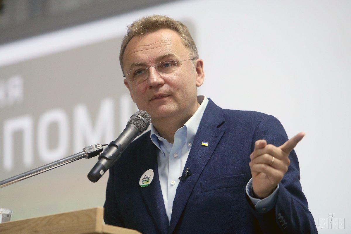 Lviv Mayor Sadovyi / Photo from UNIAN