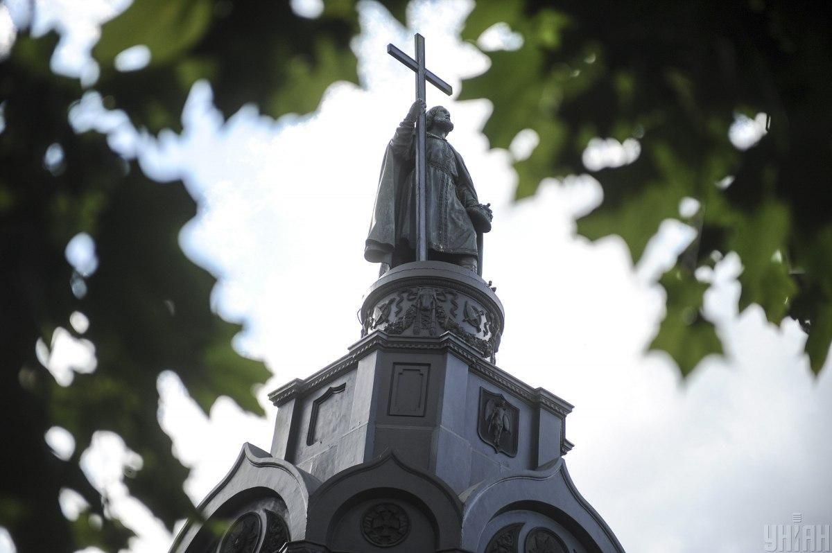 У цей день моляться іконі святого Володимира / фото УНІАН