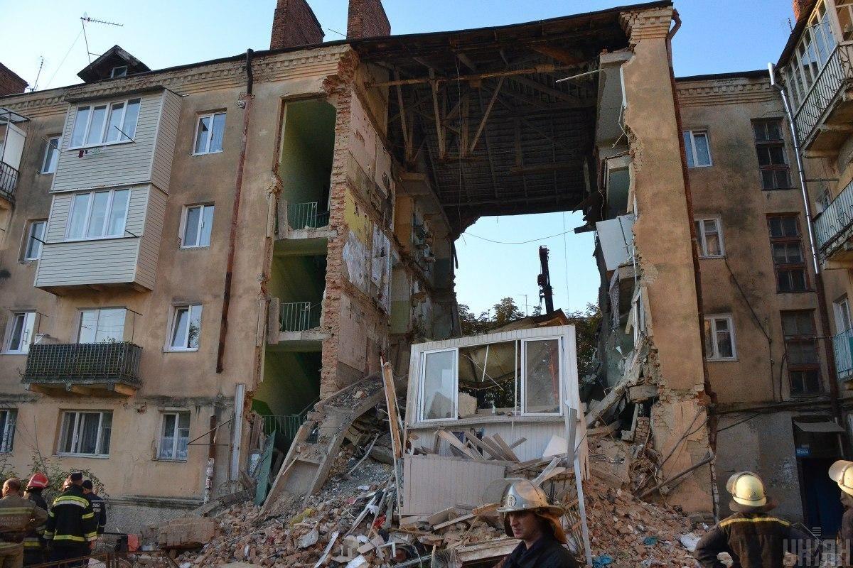 Обвал дома произошел в августе 2019 года \ Фото ГСЧС