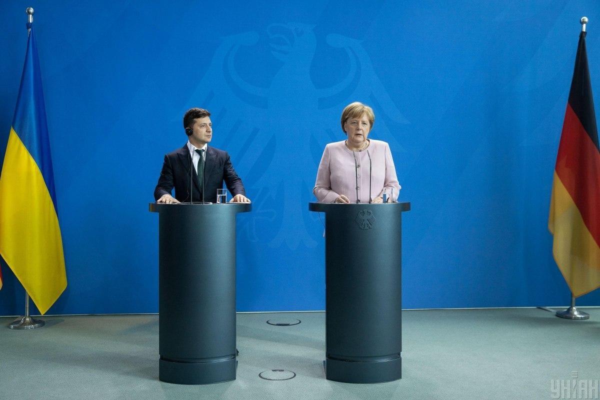 Меркель запросила Зеленського до Берліна / фото УНІАН