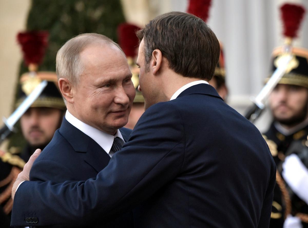 Президент Франції підтвердив прихильність своєї держави до єдності та суверенітету України / фото REUTERS
