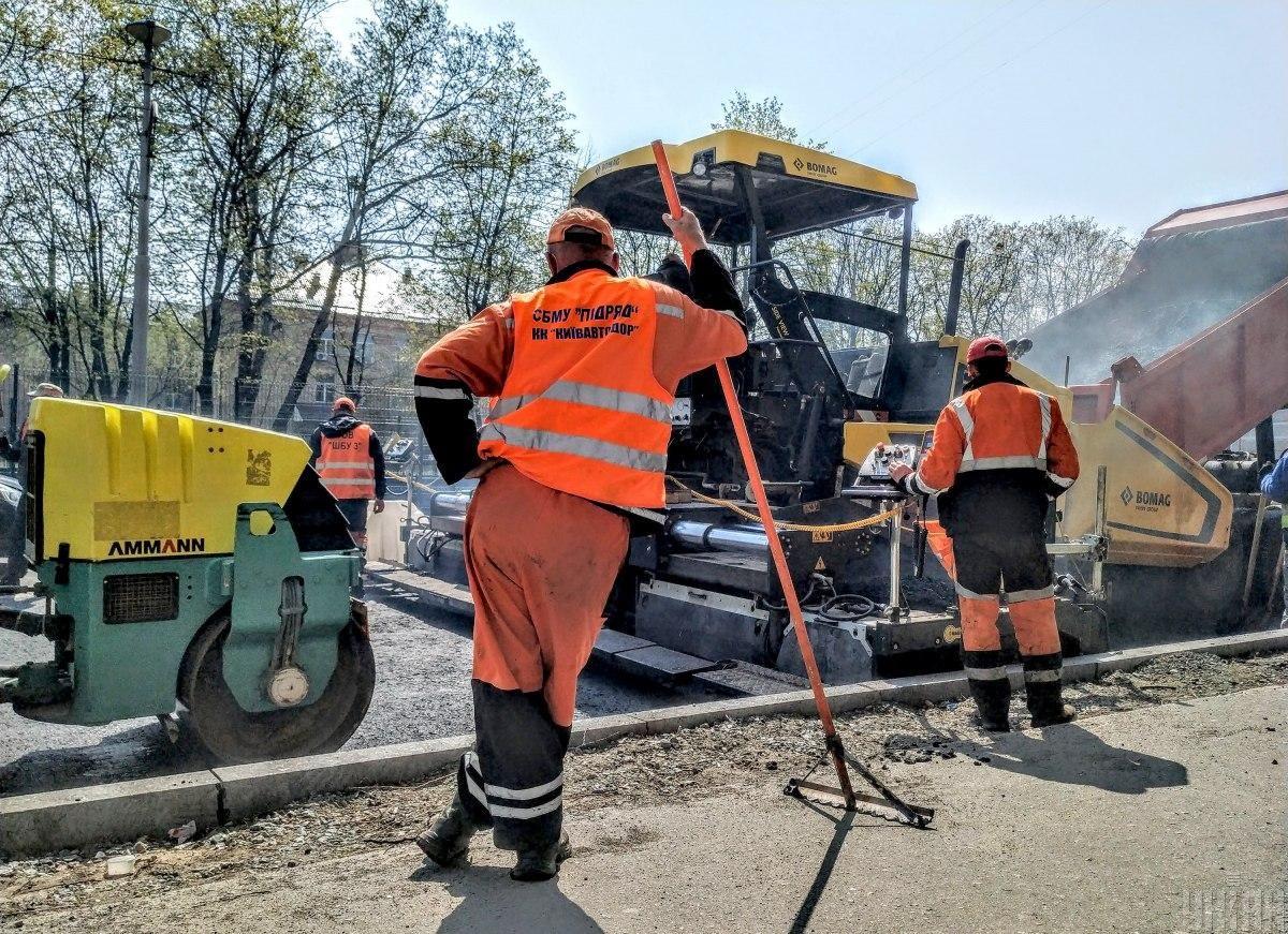 До конца года в Киеве планируют отремонтировать 60 улиц / фото УНИАН, Владимир Гонтар