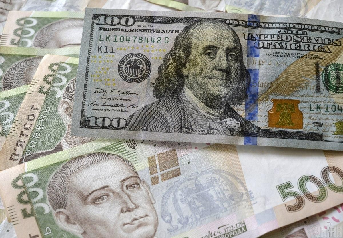 Hryvnia strengthens to U.S. dollar on April 26 / Photo from UNIAN