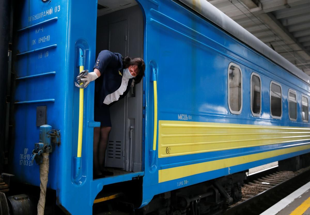 Во время поездки в вагоне поезда прорвало трубу - по словам одного из пассажиров, вонь была невыносима / фото REUTERS