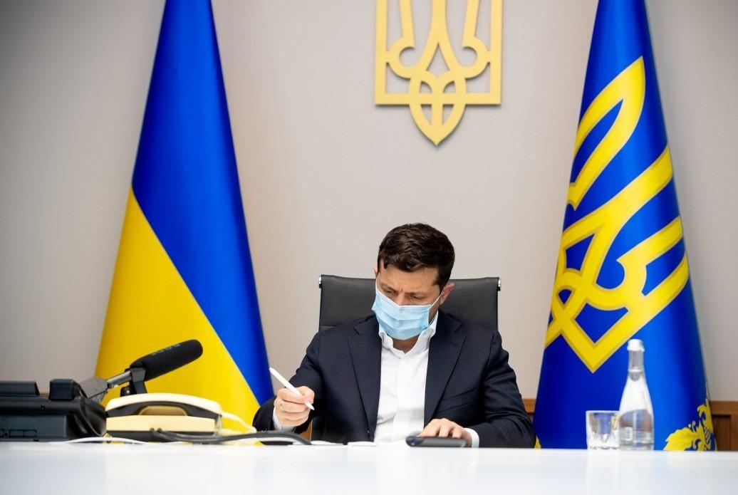 Закон был инициирован Зеленским / фото president.gov.ua