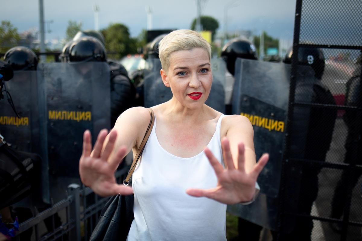 На цей час Колесникова утримується під вартою / Фото: REUTERS