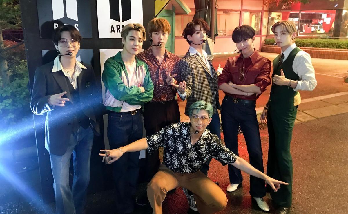 Группа BTS покажет в Fortnite клип на песню Dynamite / фото twitter.com/bts_bighit