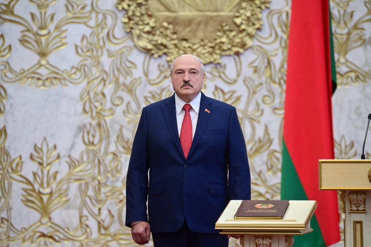 """Лукашенко підписав закон """"Про зміну законів з питань забезпечення національної безпеки"""" Білорусі / фото REUTERS"""