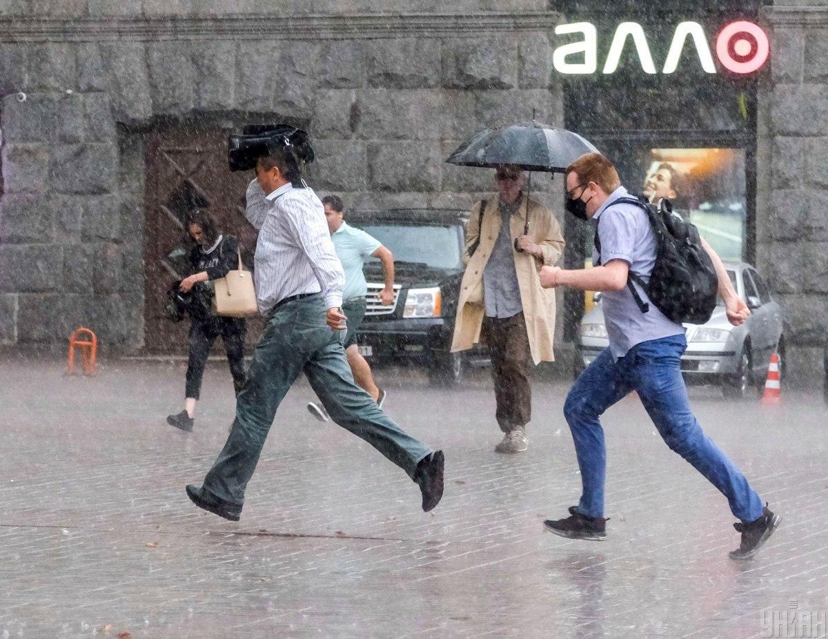 Завтра в Киеве ожидаются дожди / фото УНИАН