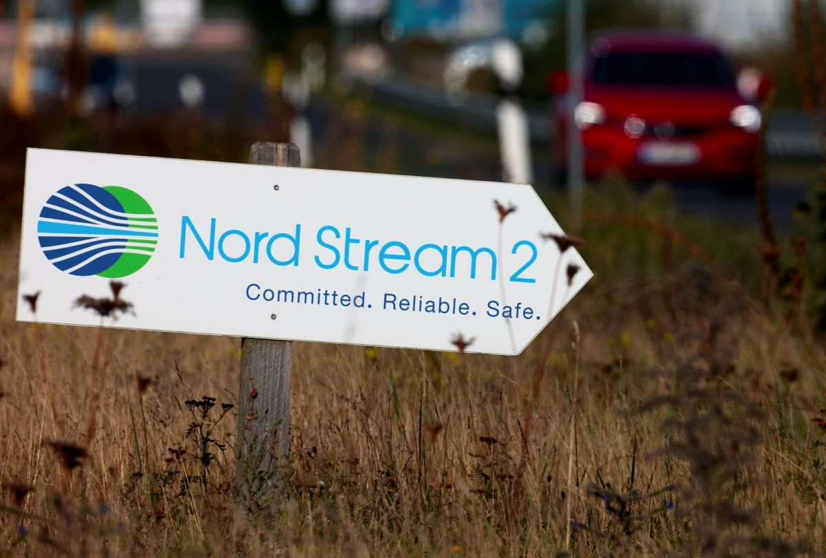 """""""Північний потік-2"""" побудований майже на 90% \  фото REUTERS"""