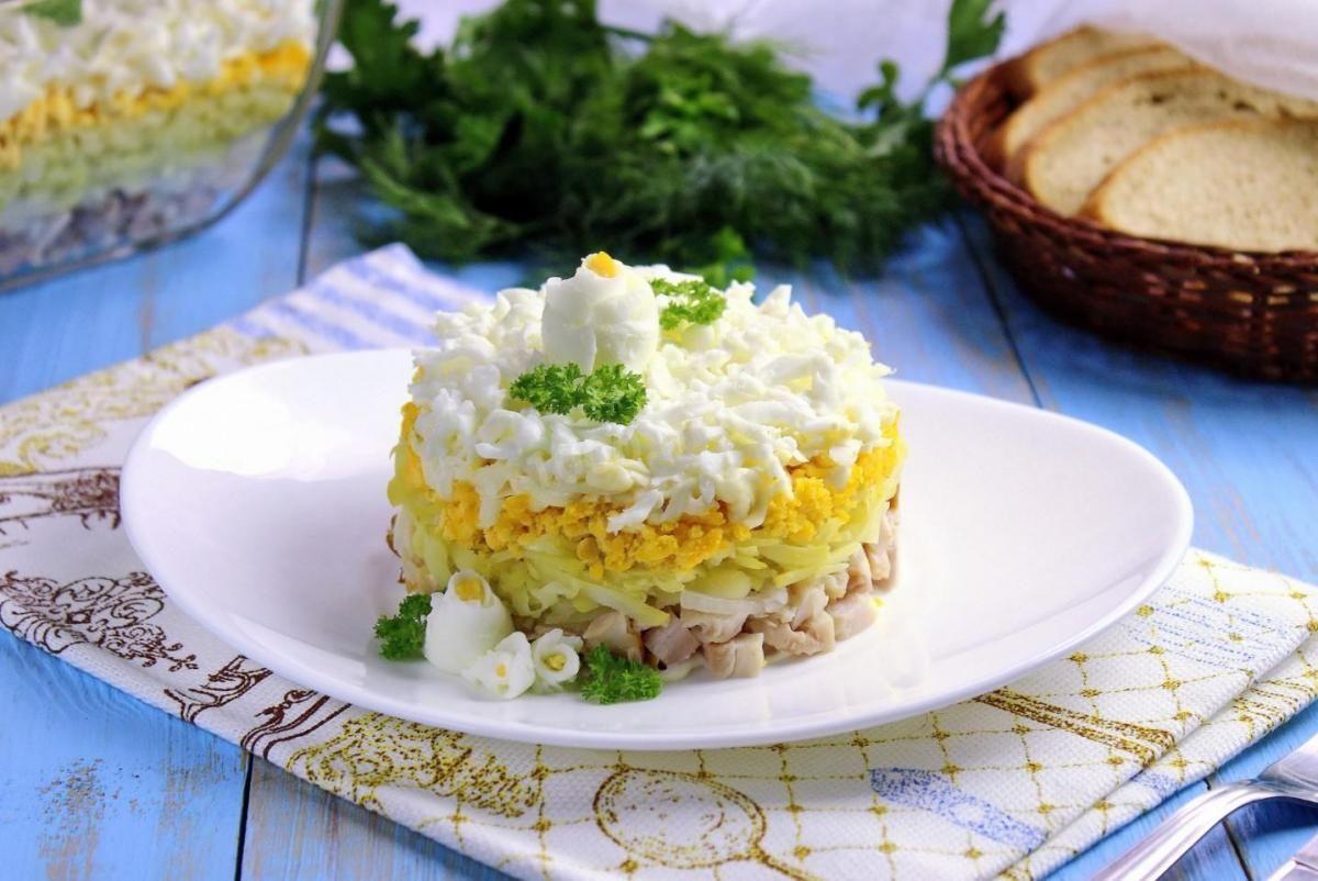 Смачний салат Наречена - рецепт / фото 1000.menu