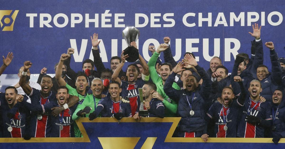 ПСЖ-володар Суперкубка Франції / фото REUTERS