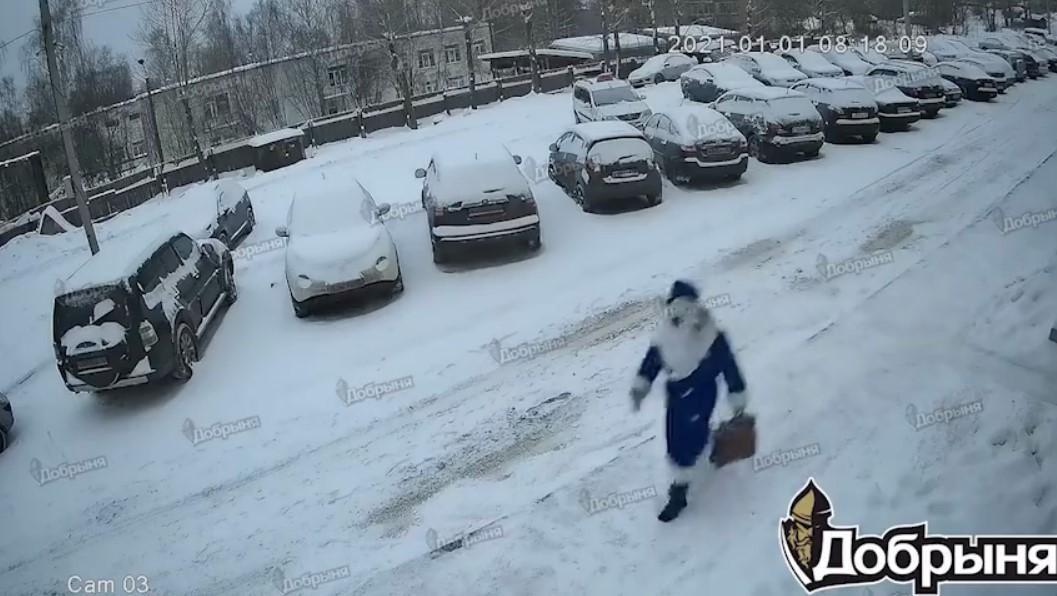 Інцидент стався 1 січня / скріншот з відео