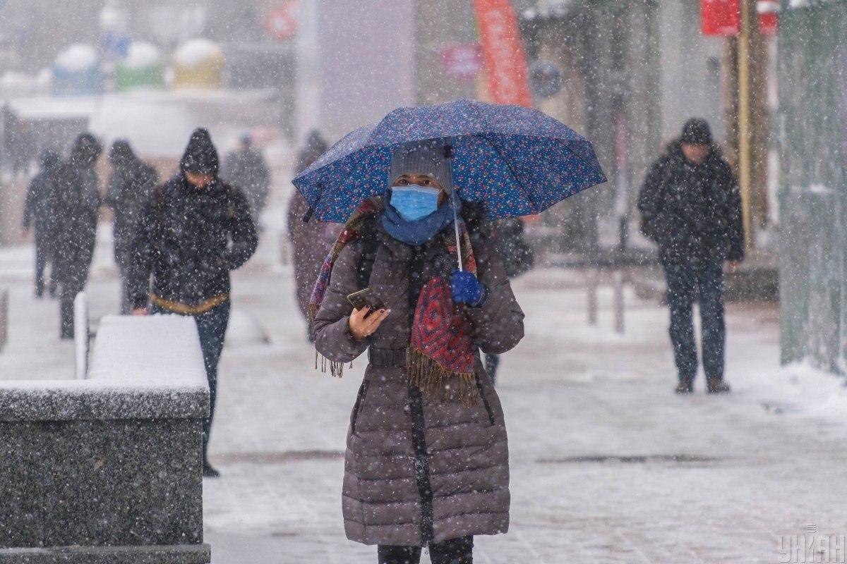 В Украине будут продолжаться снегопады / Фото УНИАН