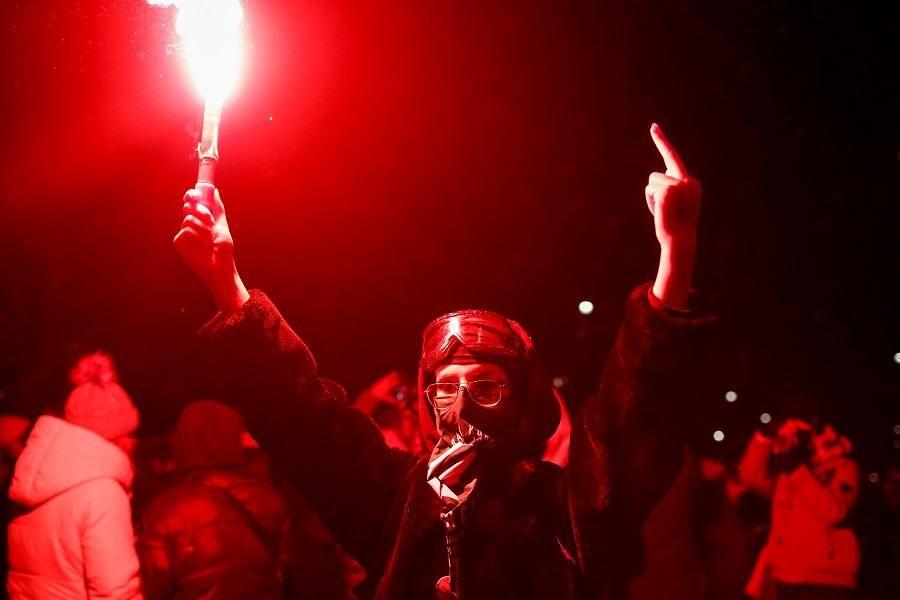 В Польше возобновились протесты  \ фото REUTERS