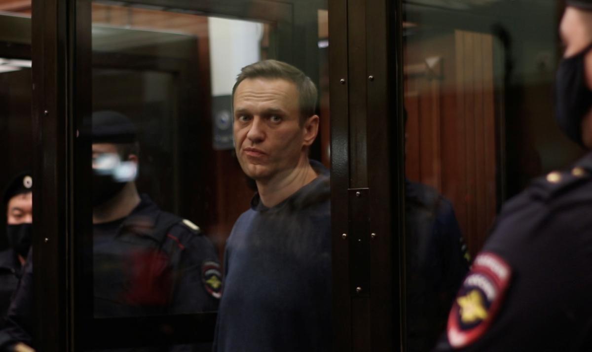 Навального етапували до колонії / фото REUTERS