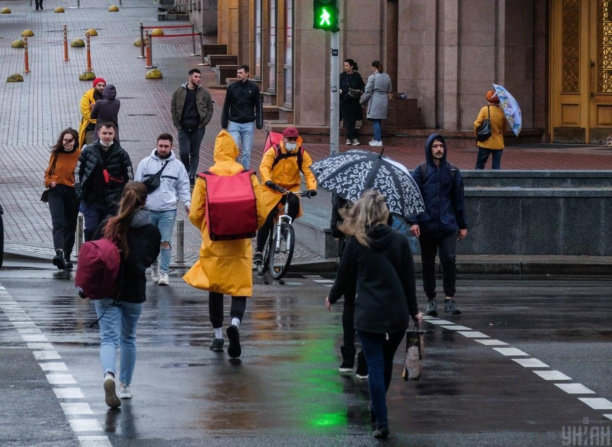 Киев накроют дожди / фото УНИАН