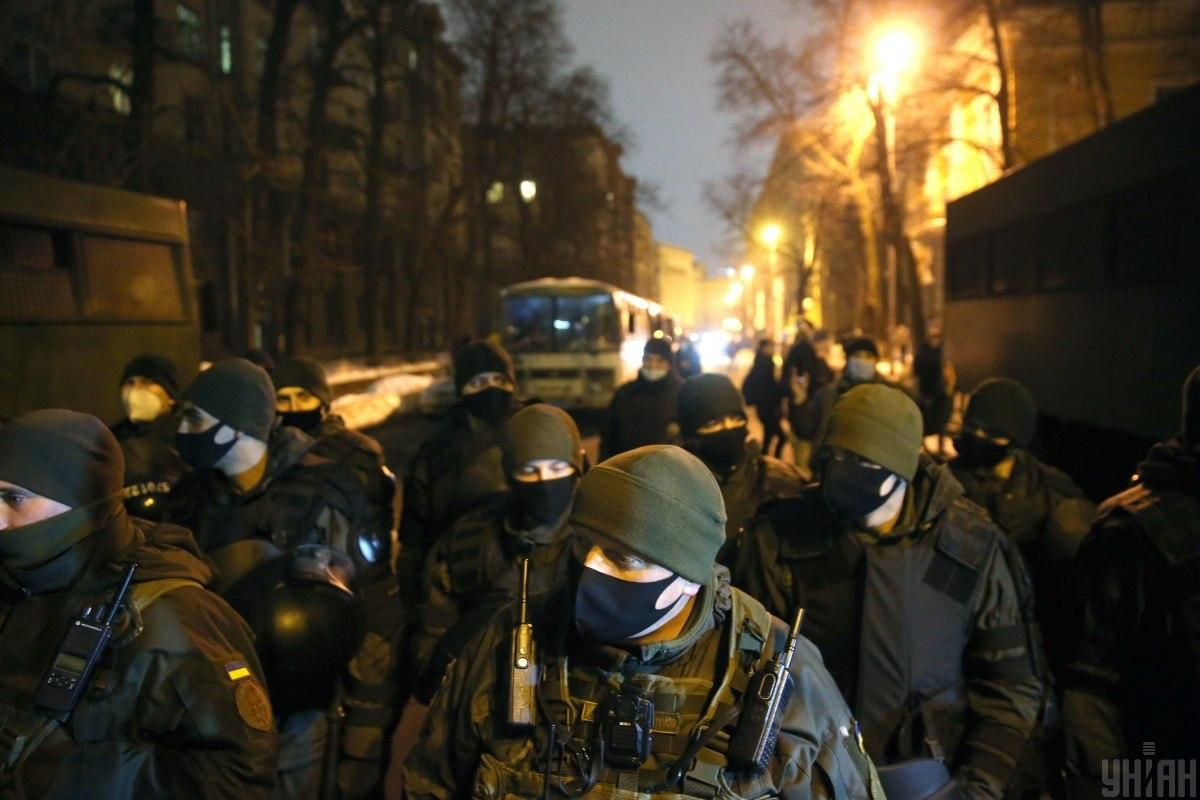 Seventeen protesters have been detained / Photo from UNIAN, by Viacheslav Ratynsky
