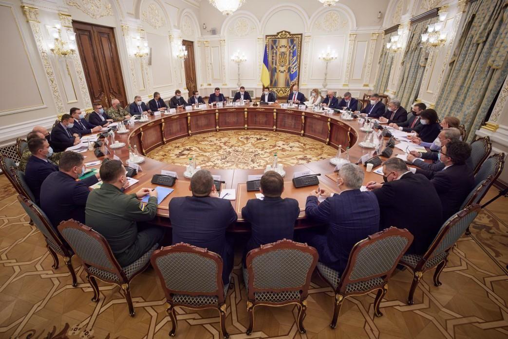 """Засідання РНБО 2 квітня - в ОП заявили про """"наведення справедливості""""  / Фото Офіс президента"""