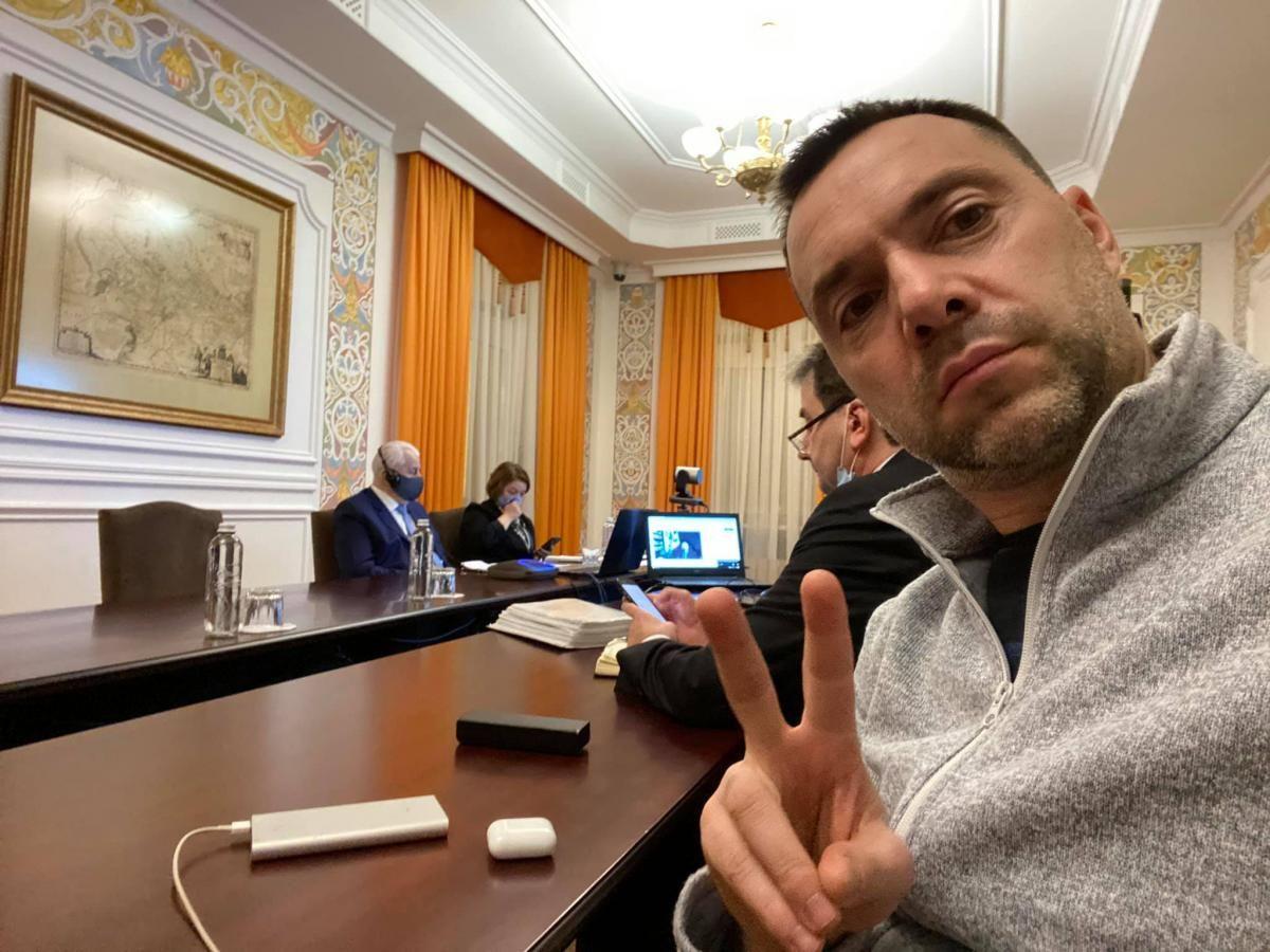 Відбулися чергові переговори ТКГ по Донбасу / фото facebook.com/alexey.arestovich