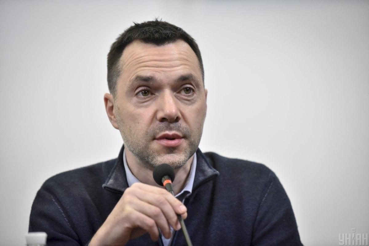 Арестович сказав, що інтерв'ю було присвячене інформаційній війні / фото УНІАН, Брессонова Ані