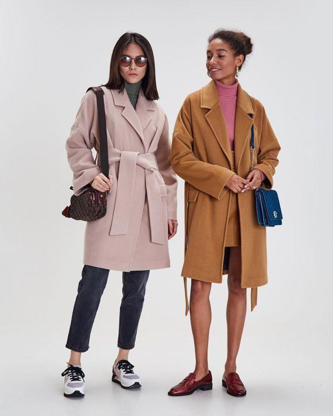 Как носить пальто 2021 / фото pinterest.com