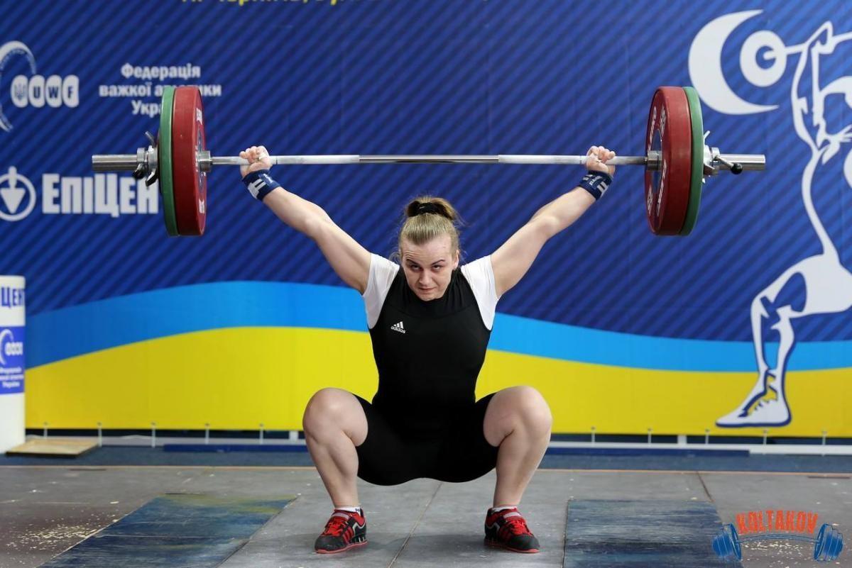 Ирина Деха - чемпионка Европы / фото facebook.Iryna-Dekha