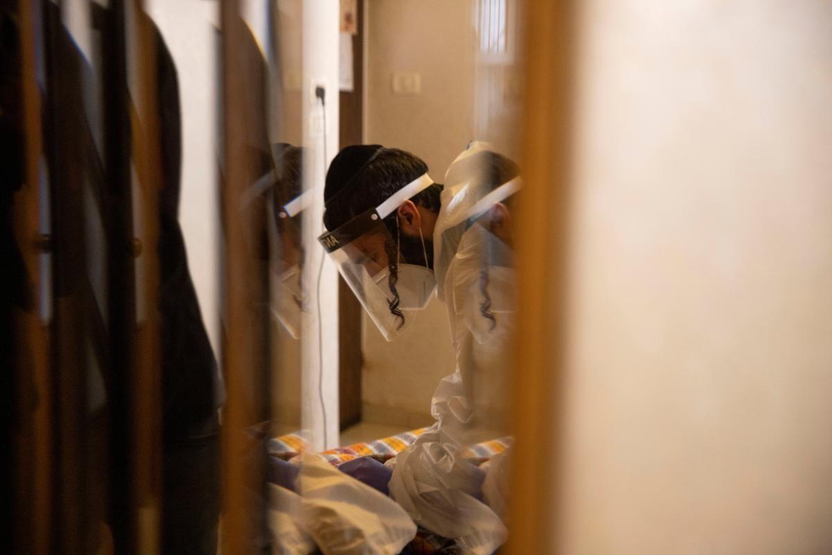 Лікування коронавірусу в Ізраїлі / фото REUTERS