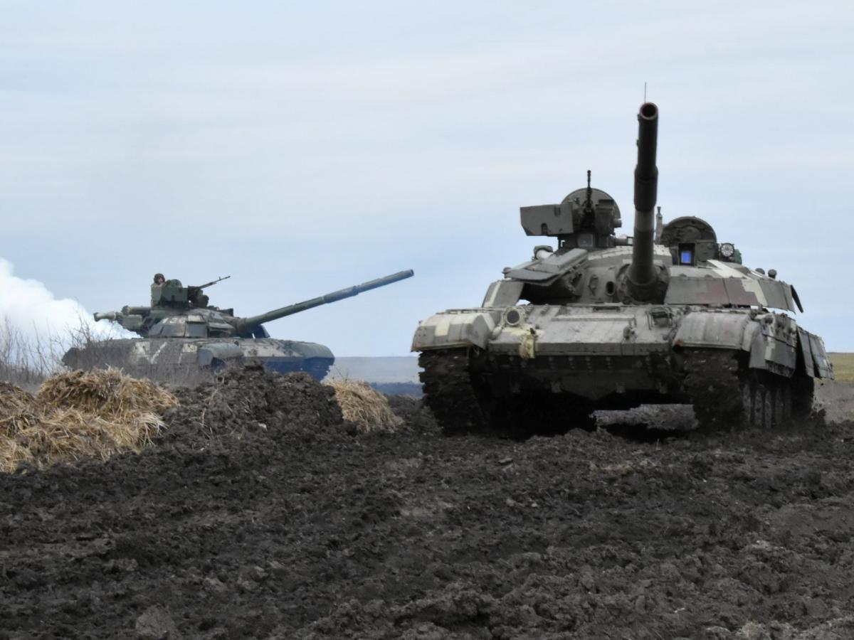 Бойових втрат серед українських військових немає / REUTERS