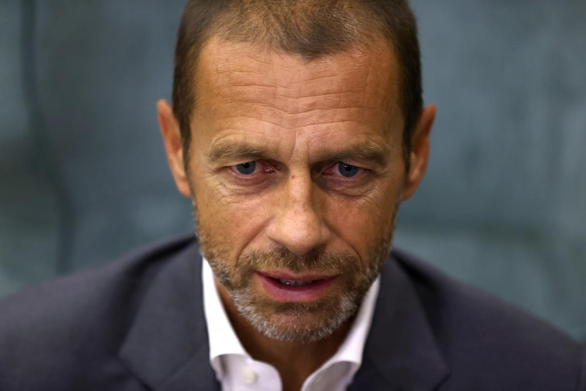 Александер Чеферін / фото REUTERS