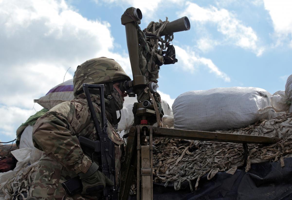 Боевых потерь среди украинских защитников нет / фото REUTERS