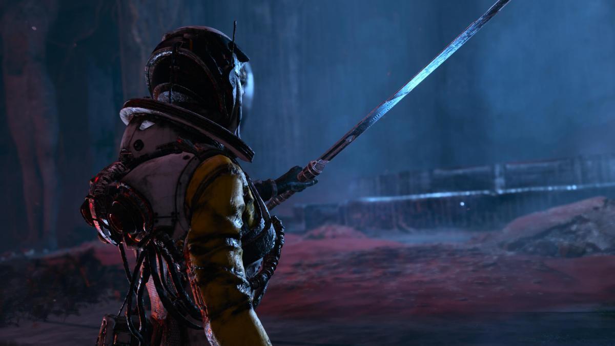 Returnal вышел 30 апреля на PS5 / скриншот