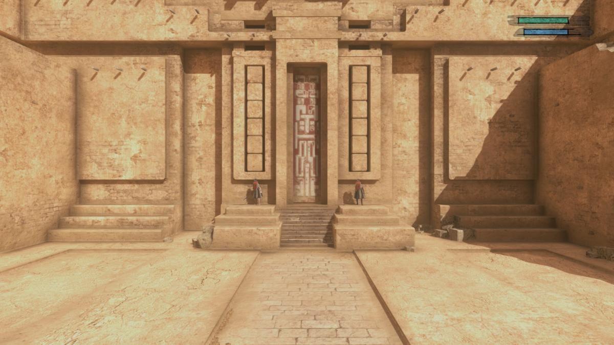 Город Фасад напоминает песчаную Венецию / скриншот