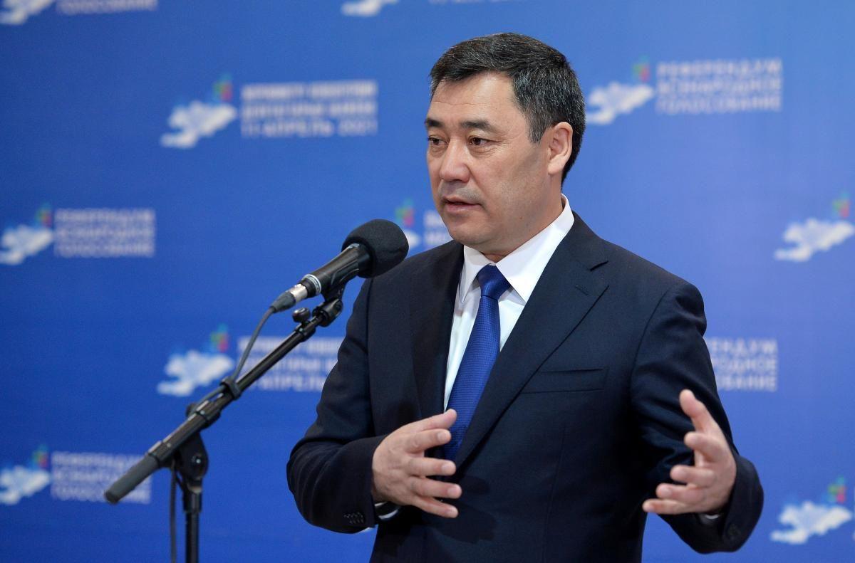 Президент Киргизстану Садир Жапаров / фото REUTERS