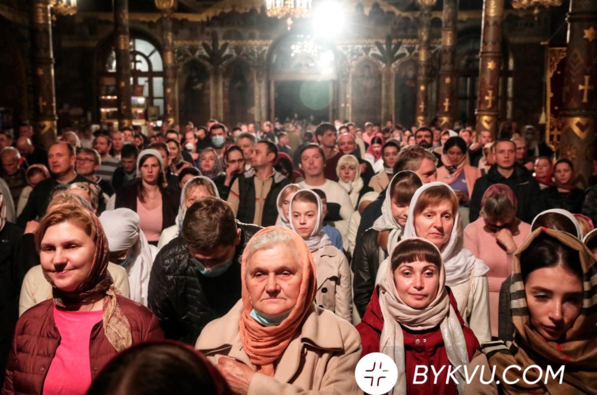 Пасхальное богослужение в Лавре / bykvu