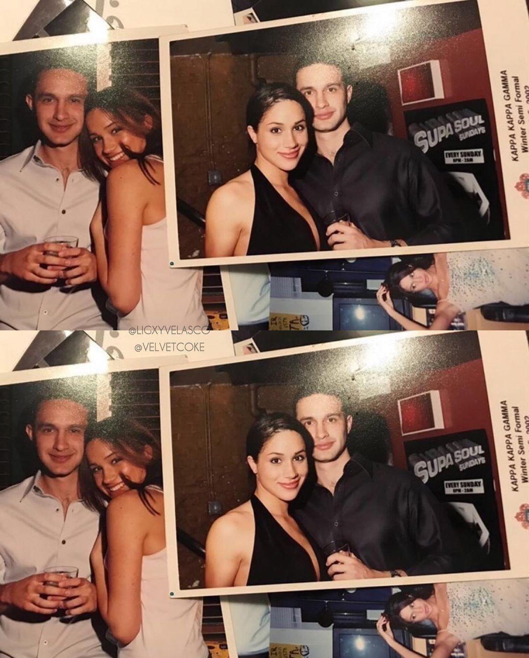 Меган Маркл с парнем / фото instagram.com/velvetcoke