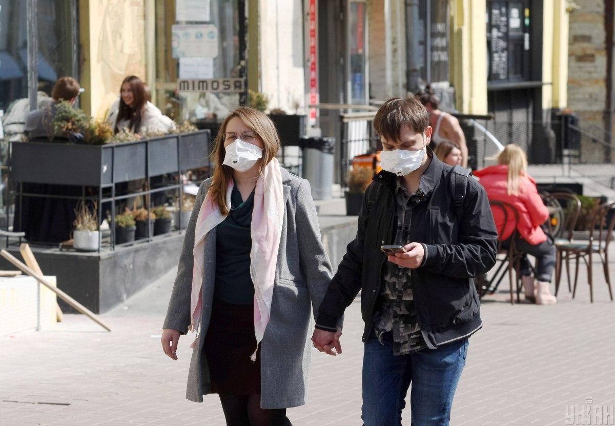 The coronavirus quarantine in Ukraine / Photo from UNIAN